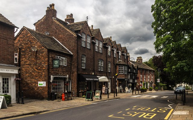 Prestbury town street