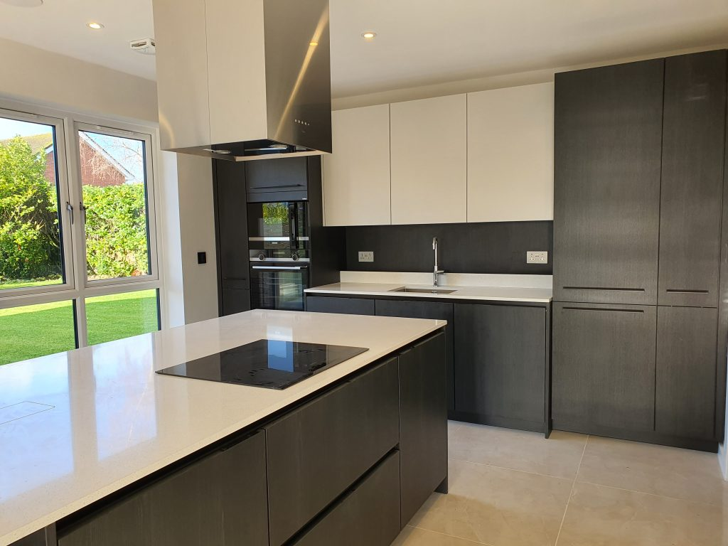 The kitchen's at Bank Farm Grove are the perfect multi-functional space for families.